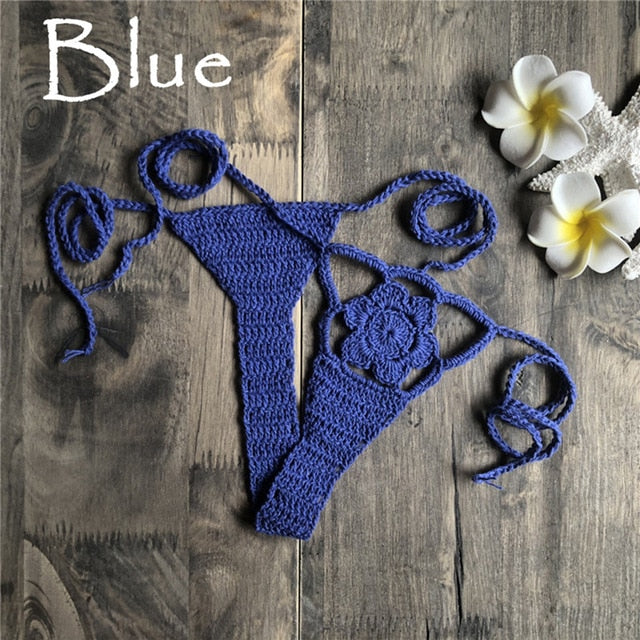 Crochet Bikini Bottom Beach Thong