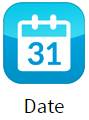 Date app for digital signage