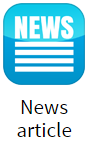 News Article app for digital signage