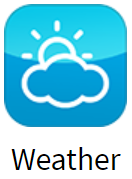 Weather app for digital signage from SmartSign2go