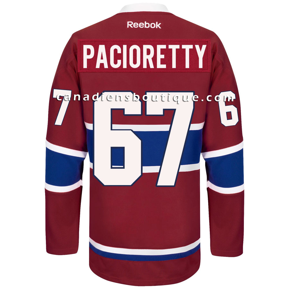 Max Pacioretty Montreal Canadiens Reebok Youth Red Premier Jersey