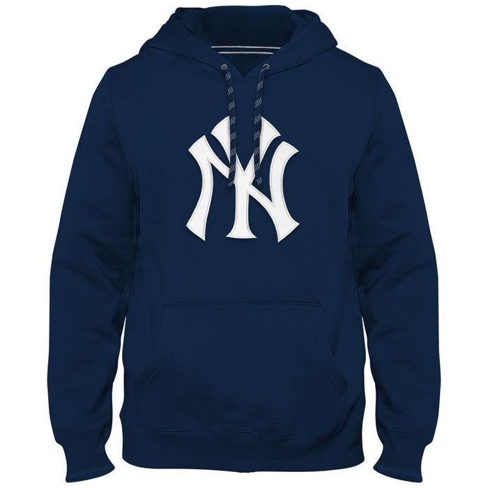 New York Yankees Men's Dark Blue Express Hoodie