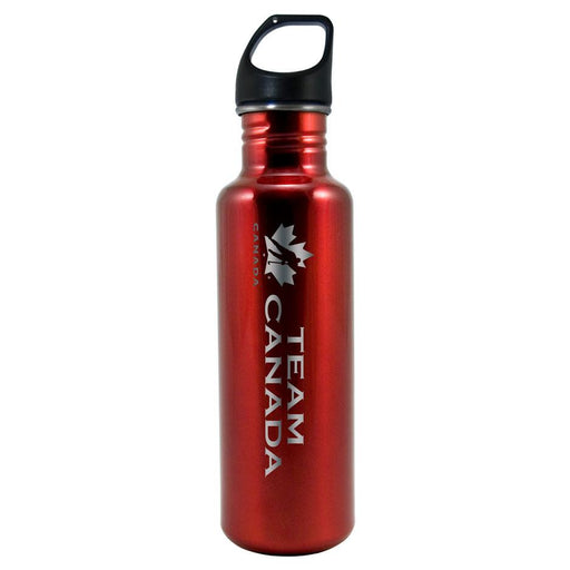 Team Canada 26oz Red Stainless Steel Water Bottle