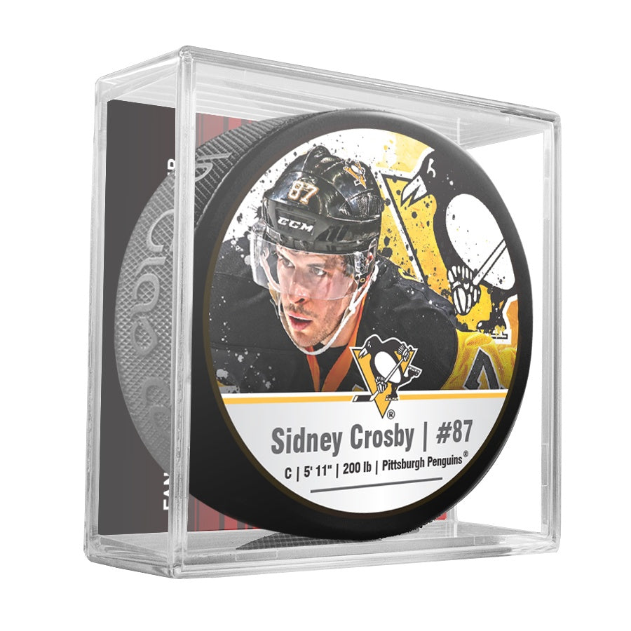 Sidney Crosby #87 Cube NHL Player Star Puck