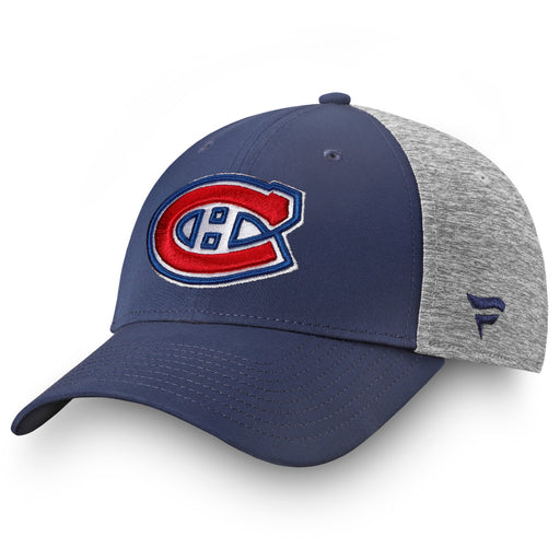 Montreal Canadiens Fanatics Blue Locker Room Authentic Pro Fitted Hat