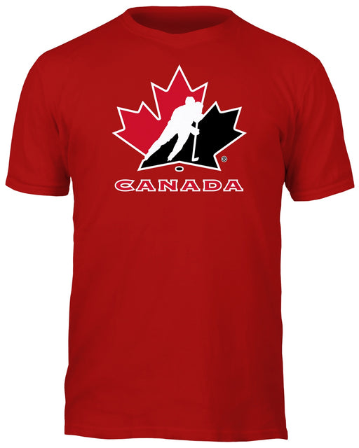 Team Canada Basic Logo Red T-Shirt