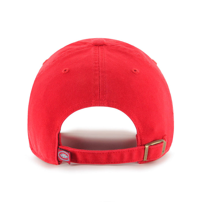 Montreal Canadiens 47 Red Clean Up Adjustable Hat
