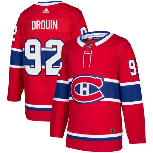 Jonathan Drouin 92 Montreal Canadiens Adidas Authentic Pro Jersey