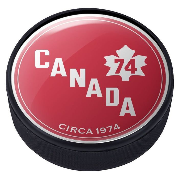 Team Canada Vintage 1974 Domed Puck