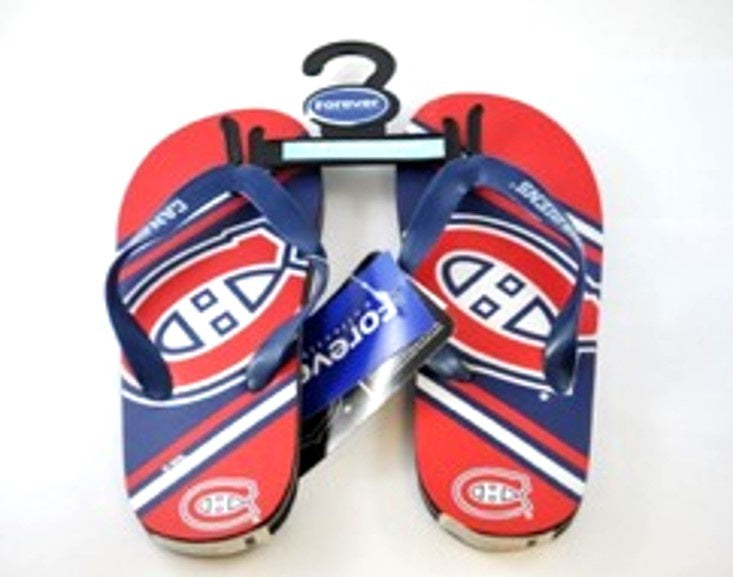 Montreal Canadiens Youth Flip Flops