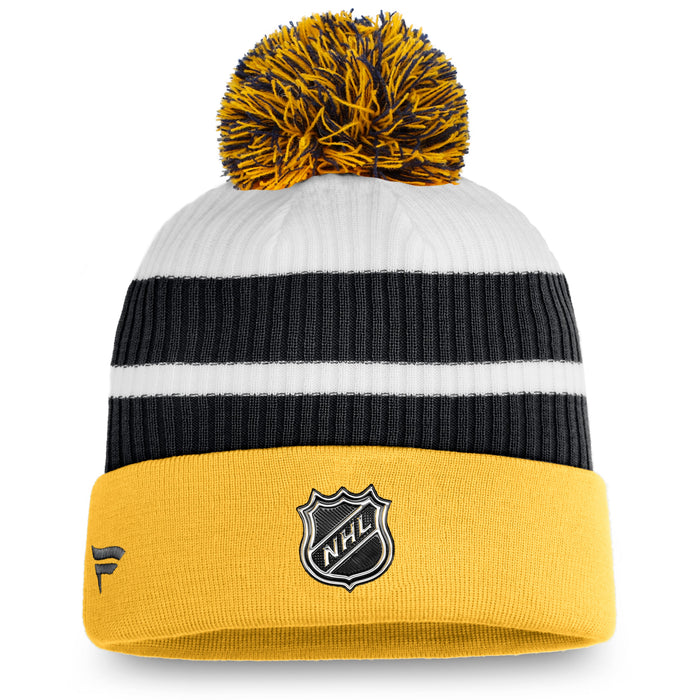 Boston Bruins Fanatics Yellow 2020/21 Special Edition Beanie Cuff Knit Hat