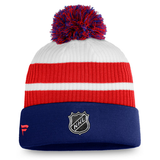 Montreal Canadiens Fanatics Blue 2020/21 Special Edition Beanie Cuff Knit Hat