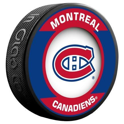 Montreal Canadiens Retro Puck