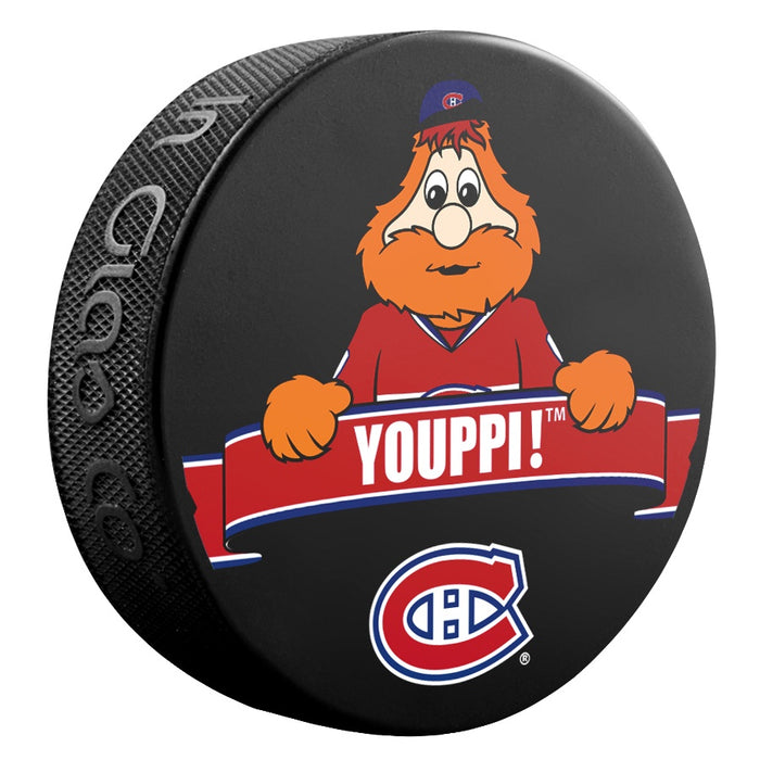 Youppi Montreal Canadiens Puck