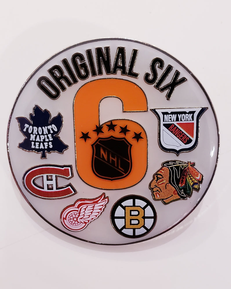 Original Six NHL Pin