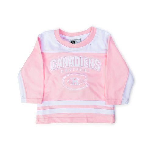 Montreal Canadiens Infant Pink MightyMac Jersey