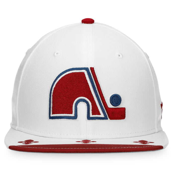 Colorado Avalanche Fanatics White 2020/21 Special Edition Snapback