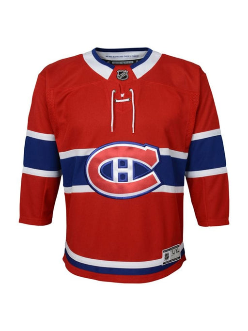Youth  Montreal Canadiens Pro Stitched Customization