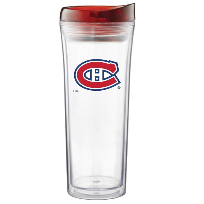 Montreal Canadiens 20oz Chillax Acrylic Tumbler Red