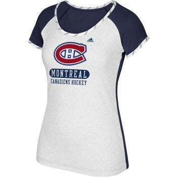 Montreal Canadiens Women's Adidas Constructed Tee
