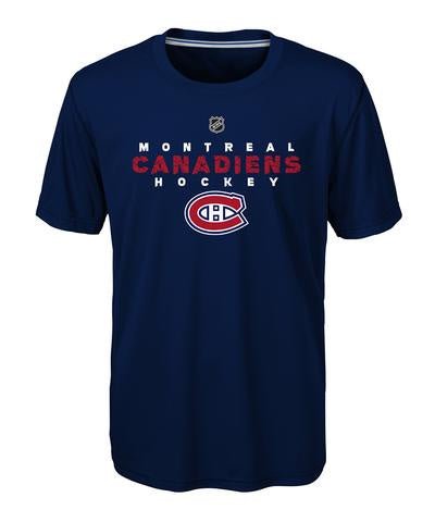 Montreal Canadiens Kids Navy Avalanche Ultra T Shirt