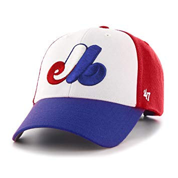 Montreal Expos '47 Kids Heritage Tri-Color MVP Adjustable Hat