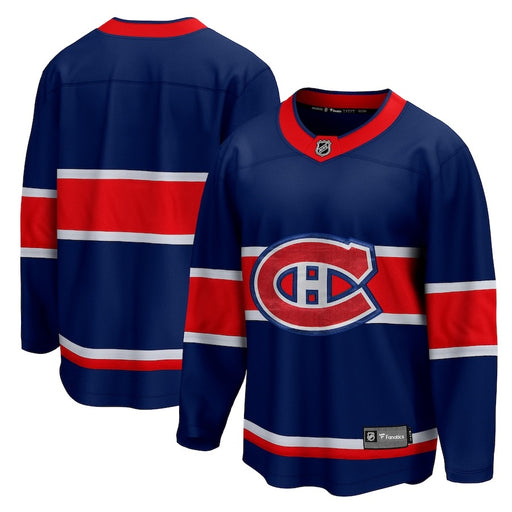 Montreal Canadiens Fanatics Branded Blue 2020/21 Special Edition Breakaway Jersey