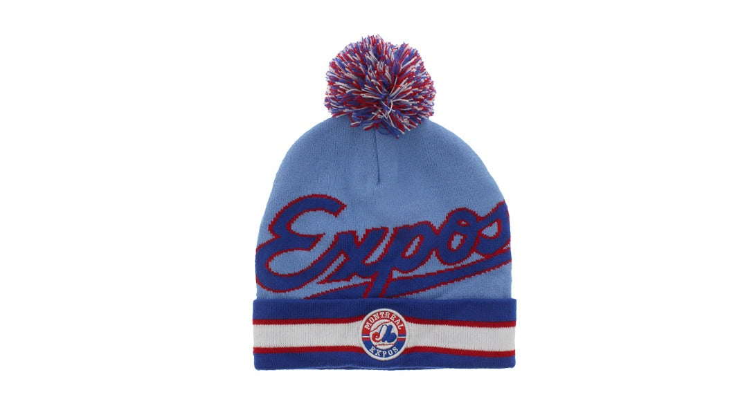 Montreal Expos Jacquard Knit Hat