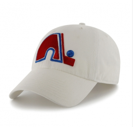 Quebec Nordiques 47 White Vintage Clean Up Hat
