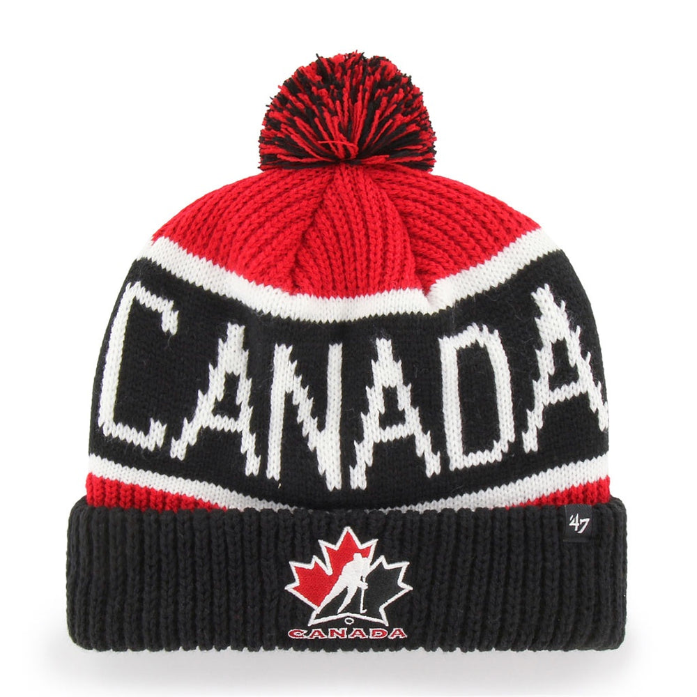 Team Canada 47 Red Cuff Knit Toque