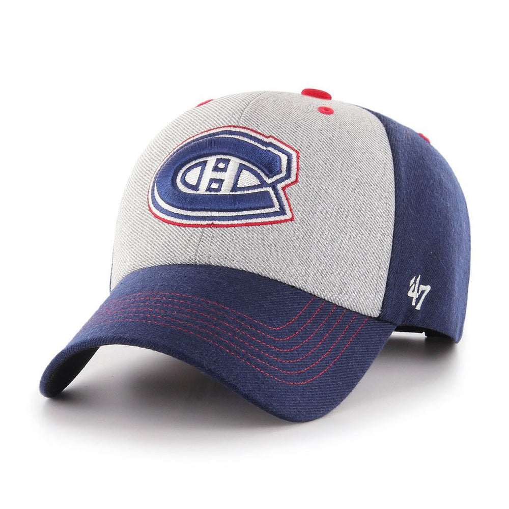 Montreal Canadiens 47 Brand Blue Formation MVP - Adjustable Hat
