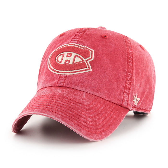Montreal Canadiens 47 Coral Hudson Clean Up Adjustable Hat