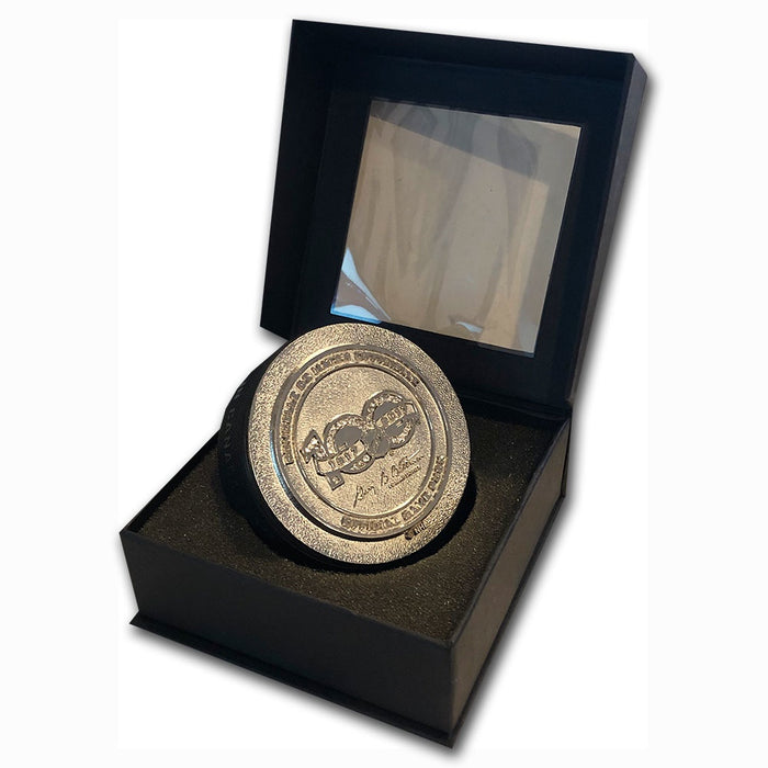 NHL 100th Anniversary 3D Official Game Puck Precious Stones