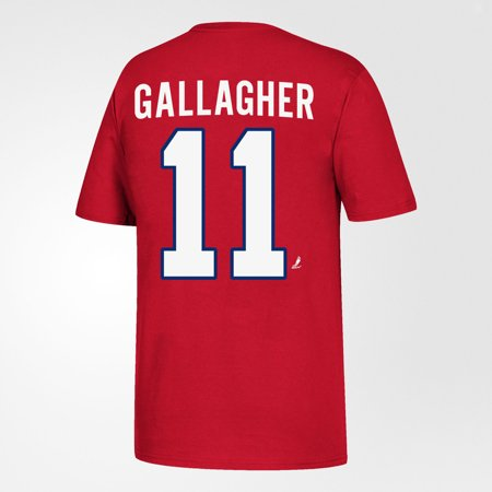 Brendan Gallagher 11 Montreal Canadiens Youth Red  T-Shirt