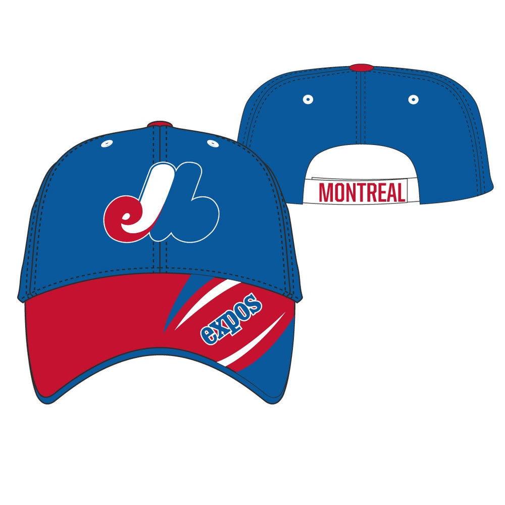 Montreal Expos 47 Navy Youth Baloo MVP Adjustable Hat