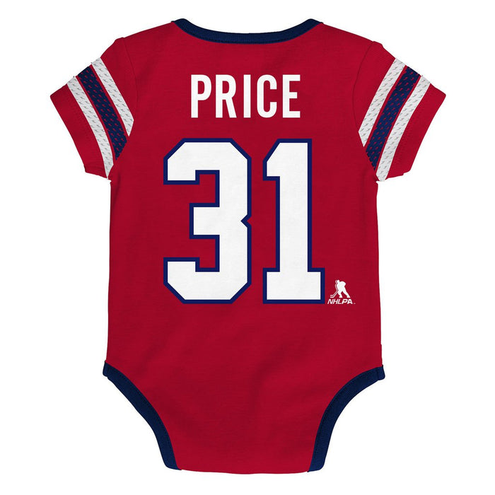 Carey Price Montreal Canadiens Infant Cherry Picking Bodysuit