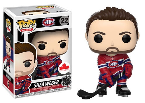 Shea Weber POP NHL figures Red Home Jersey Funko