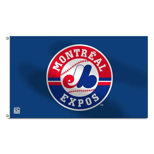 Montreal Expos 3' x 5' Navy Banner Flag