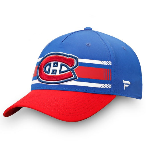 Montreal Canadiens Fanatics Navy Primary Logo Adjustable Hat