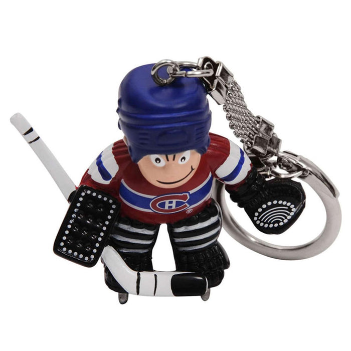 Montreal Canadiens Mini Goalie Key Chain