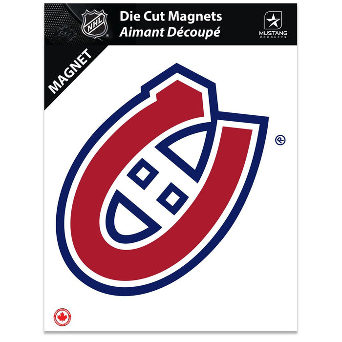Montreal  Canadiens 8x11 Team Magnet Crest