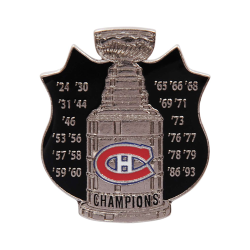 Montreal Canadiens Stanley Cup Championship Pin
