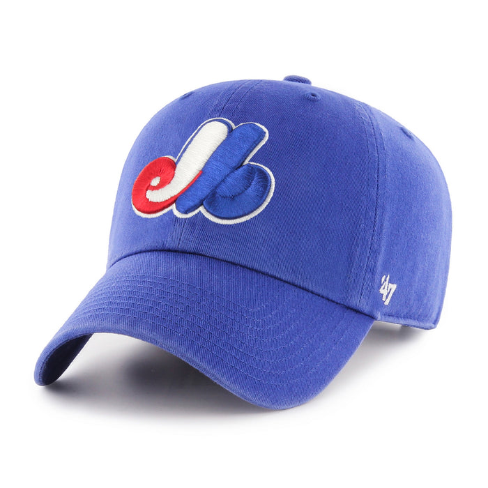 Montreal Expos '47 Navy Clean Up Adjustable Hat