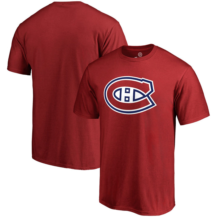 Montreal Canadiens Fanatics Breakaway Red Authentic T Shirt