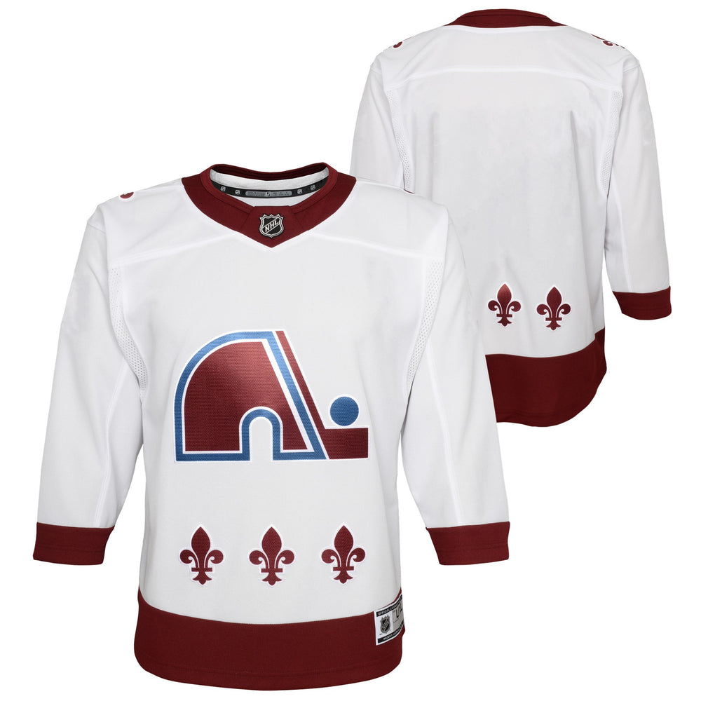 Colorado Avalanche Youth White Special Edition Premier Jersey