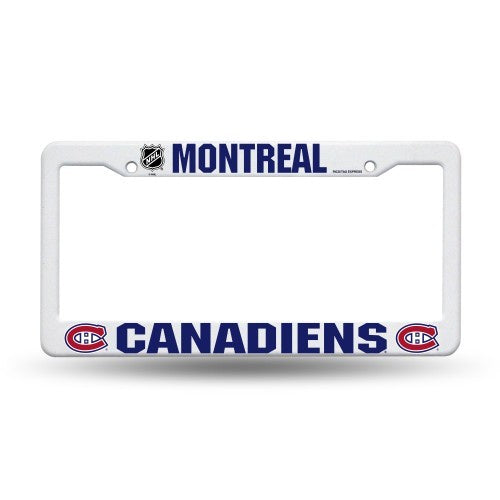 Montreal Canadiens Plastic License Plate Frame