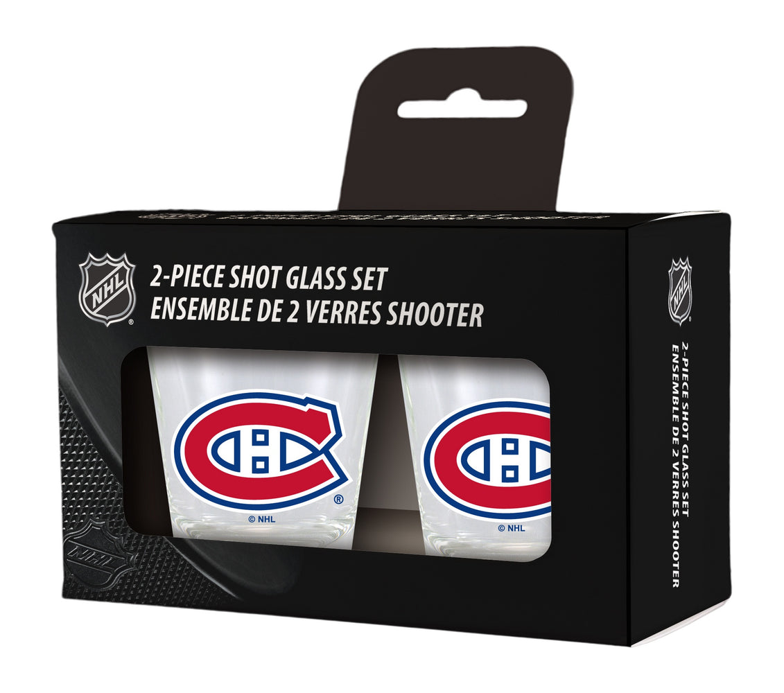Montreal Canadiens 2pk Shot Glass Set