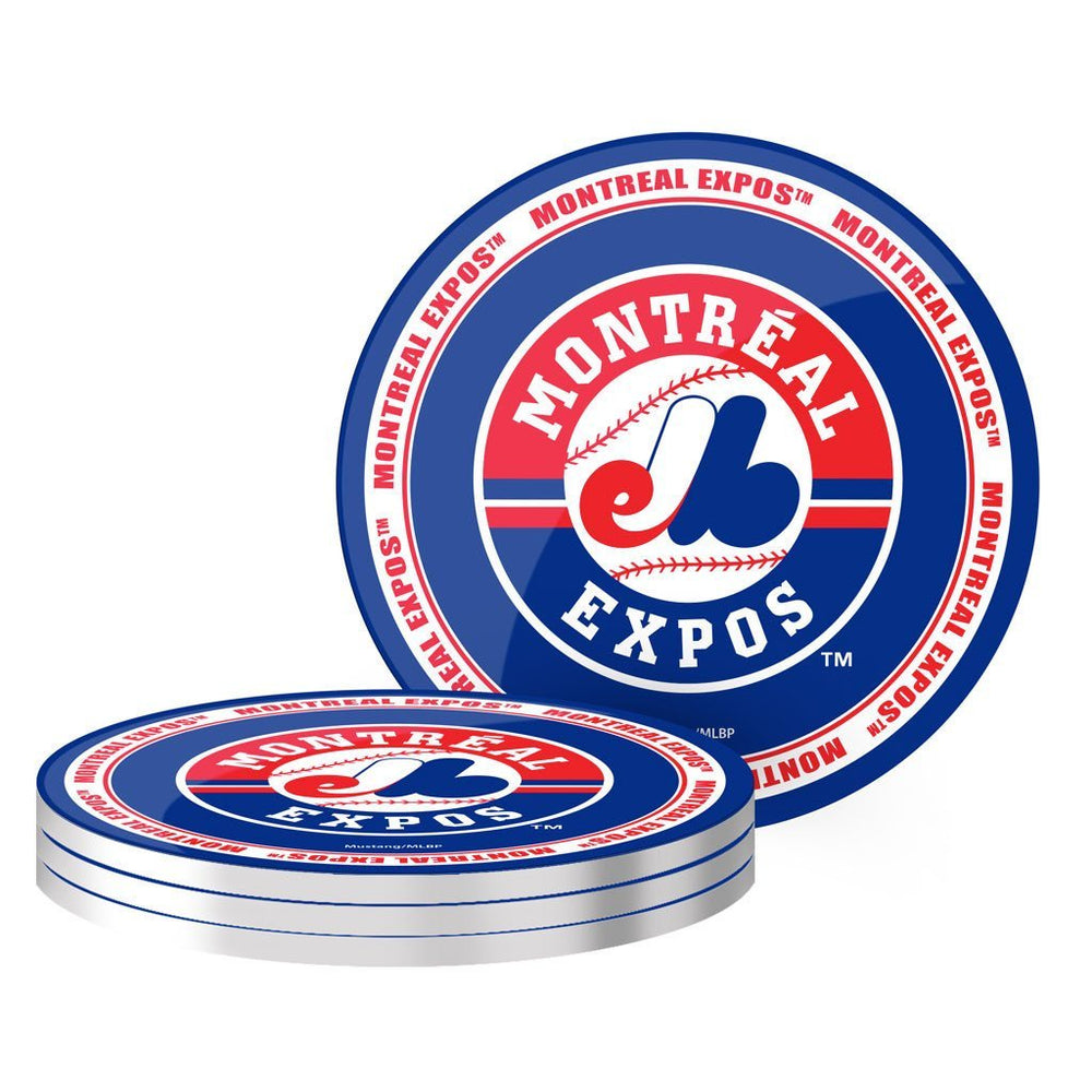 Montreal Expos 4 Pack Coaster Set
