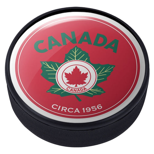 Team Canada Vintage 1956 Domed Puck