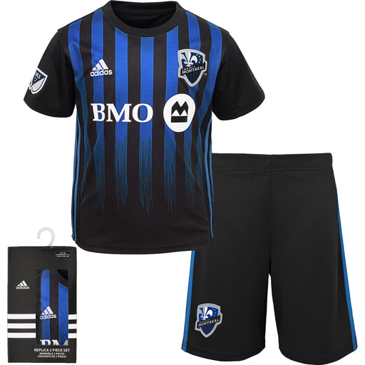 Montreal Impact Adidas Kids Replica 2 Piece Primary Kit